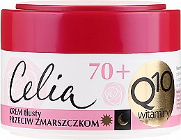 Profumi e cosmetici Crema nutriente antirughe 70+ - Celia Q10 Face Cream 70+