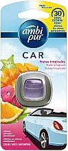 """Profumi e cosmetici Deodorante per auto """"Frutti tropicali"""" - Ambi Pur"""