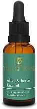Profumi e cosmetici Olio viso - Yellow Rose Olive And Herbs Face Oil