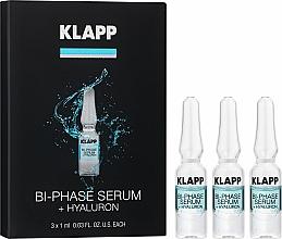 "Profumi e cosmetici Siero bifasico ""Ialurone"" - Klapp Bi-Phase Serum Hyaluron"