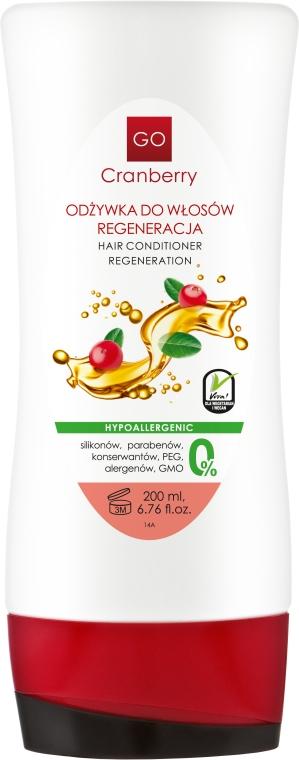 Condizionante capelli rigenerante - GoCranberry Hair Conditioner Regeneration — foto N1