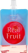 """Profumi e cosmetici Gel corpo """"Mirtillo rosso"""" - Skin79 Real Fruit Real Fruit Cranberry Soothing Gel"""