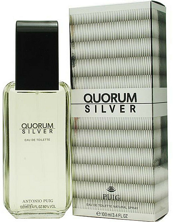 Antonio Puig Quorum Silver - Eau de toilette  — foto N2