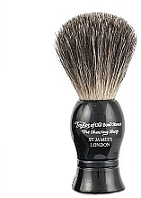 Profumi e cosmetici Pennello da barba, nero - Taylor of Old Bond Street Shaving Brush Pure Badger size S