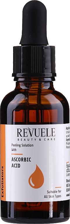 Peeling con acido ascorbico - Revuele Peeling Solution Ascorbic Acid Exfoliator