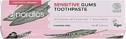 Profumi e cosmetici Dentifricio per denti sensibili - Nordics Sensitive Gums Toothpaste
