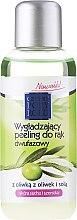 "Profumi e cosmetici Peeling bifasico per mani ""Oliva"" - Cztery Pory Roku Olive Hand Two-Phase Peeling"