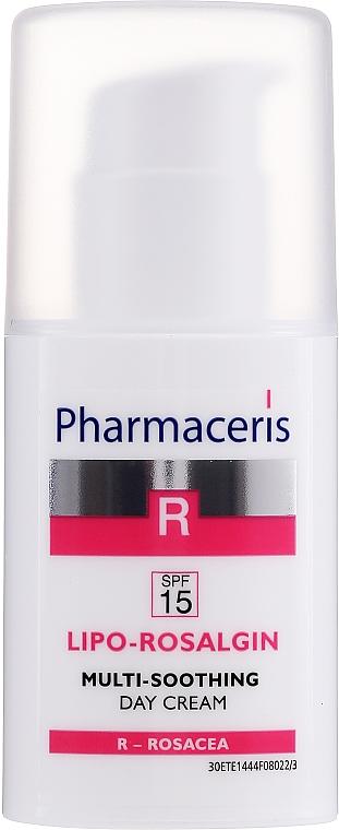 Crema lenitiva per l'irritazione della pelle secca - Pharmaceris R Lipo Rosalgin Multi-Soothing Cream