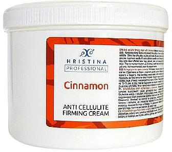 Crema anticellulite alla cannella - Hristina Professional Anti Cellulite Firming Cream