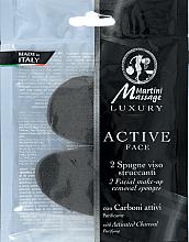 Profumi e cosmetici Spugna trucco con carbone attivo - Martini Spa