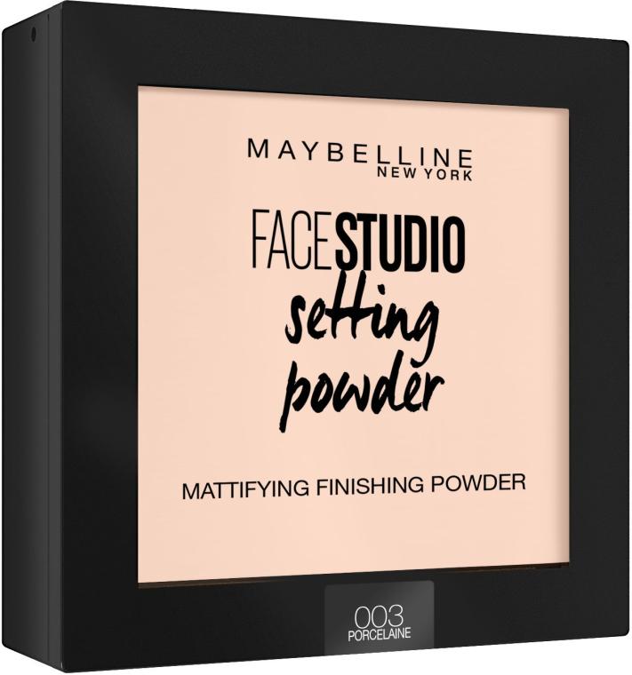 Cipria fissaggio opaco - Maybelline Facestudio Setting Powder