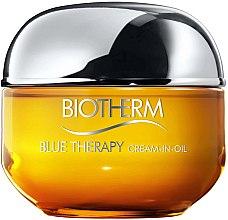 Profumi e cosmetici Crema viso rivitalizzante - Biotherm Blue Therapy Cream-in-Oil