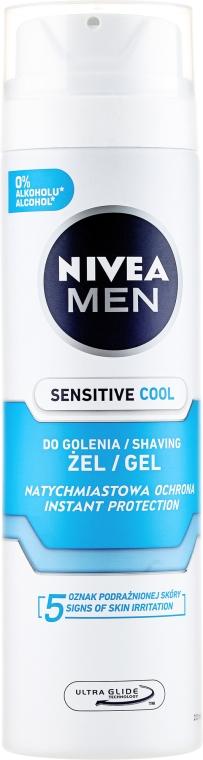 Gel da barba rinfrescante - Nivea Men Sensitive