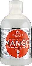 "Profumi e cosmetici Shampoo capelli idratante ""Mango"" - Kallos Cosmetics Mango"