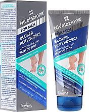 Profumi e cosmetici Deodorante crema piedi - Farmona Nivelazione For Men Antiperspirant Foot Cream
