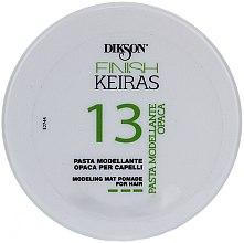 Profumi e cosmetici Pasta modellante per capelli - Dikson Finish Keiras Pasta Modellante Opaca 13
