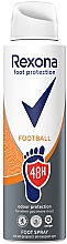 Profumi e cosmetici Spray per piedi - Rexona Football Spray