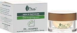 Profumi e cosmetici Gel-impacco contorno occhi - Ava Laboratorium Dermoprogram Gel-Compress On The Eyelids And Under The Eyes