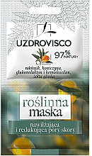 Profumi e cosmetici Maschera idratante con estratto di olivello spinoso e trifoglio - Uzdrovisco Moisturizing Mask
