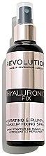Profumi e cosmetici Spray fissante trucco - Makeup Revolution Hyaluronic Fix Spray