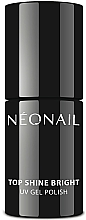 Profumi e cosmetici Top lucidante per smalto gel - NeoNail Professional Top Shine Bright UV Gel Polish