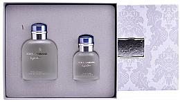 Profumi e cosmetici Dolce&Gabbana Light Blue pour Homme - Set (edt/125ml + edt/40ml)