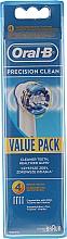 Profumi e cosmetici Ugello sostituibile per uno spazzolino elettrico, 4 pezzi - Oral-B EB20 Precision clean