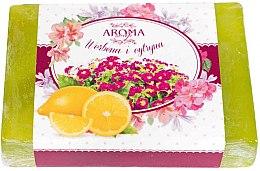 """Profumi e cosmetici Sapone """"Verbena e Limone"""" - Delicate Organic Aroma Soap"""