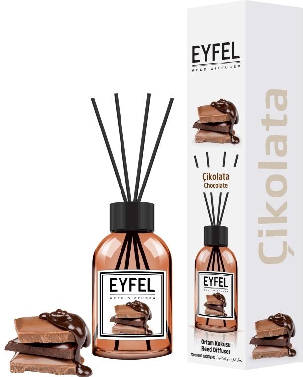 "Aromadiffusore ""Cioccolato"" - Eyfel Perfume Reed Diffuser Chocolate"