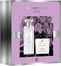 Profumi e cosmetici Allvernum Iris & Patchouli - Set (edp/50ml + candle/100g)
