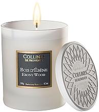 "Profumi e cosmetici Candela profumata ""Ebano"" - Collines De Provence Ebony Wood Scented Candle"