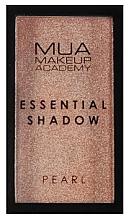 Profumi e cosmetici Ombretto - MUA Essential Shadow Pearl (Sand Quartz)