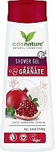 """Profumi e cosmetici Gel doccia curativo """"Melograno"""" - Cosnature Shower Gel Pomegranate"""
