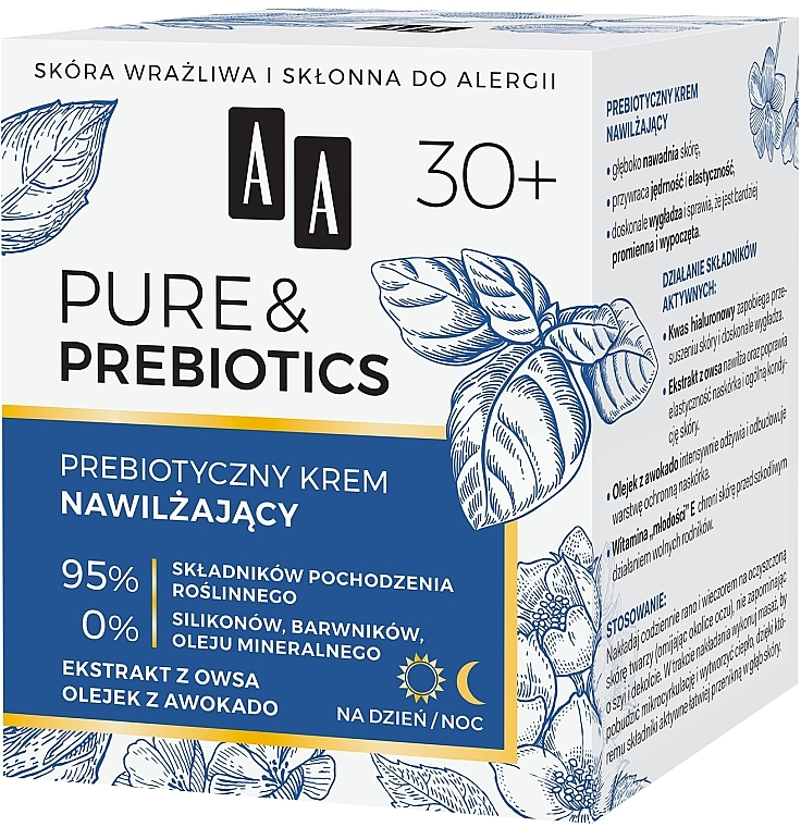Crema viso idratante - AA Pure & Prebiotics — foto N2