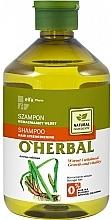 Profumi e cosmetici Shampoo rinforzante per capelli con estratto di radice di calamo - O'Herbal