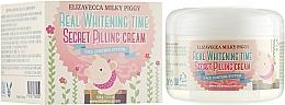 Profumi e cosmetici Crema peeling viso - Elizavecca Face Care Milky Piggy Real Whitening Time Secret Pilling Cream