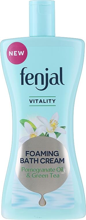 """Crema doccia """"Olio di melograno e tè verde"""" - Fenjal Vitality Pomegranate Oil & Green Tea Foaming Bath Cream"""