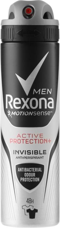 "Deodorante-spray ""Invisibile"" - Rexona Men Active Protection+ 48H Anti-Perspirant Spray"