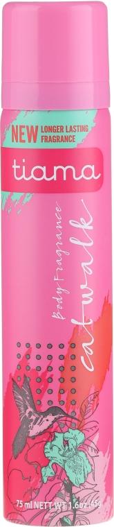 Deodorante - Tiama Body Deodorant Catwalk Pink