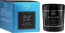 Profumi e cosmetici Candela naturale di soia - APIS Professional Good Life Soy Candle