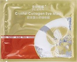 Profumi e cosmetici Maschera-patch con collagene anti-gonfiore - Pilaten Crystal Collagen Eye Mask Anti-Puffiness Dark Circle