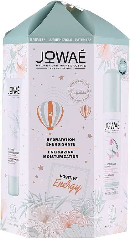 Set - Jowae Positive Energy (f/gel/40ml + micellar/150ml) — foto N1