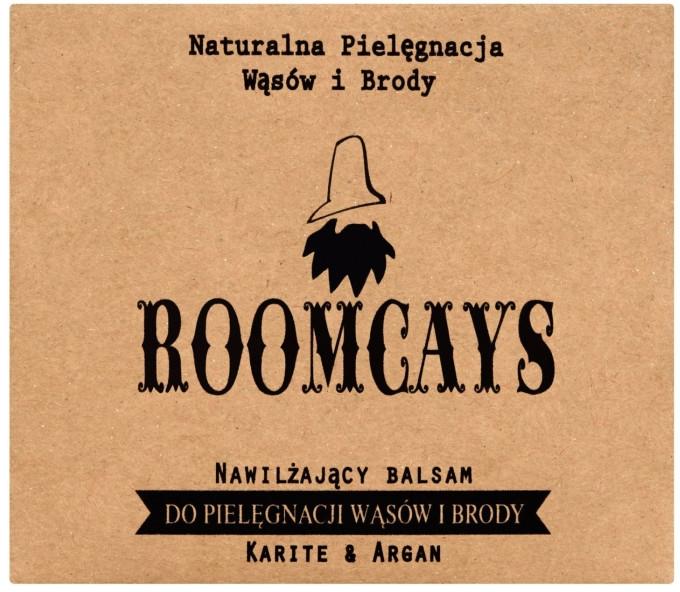 Balsamo per baffi e barba, con burro di karitè - Roomcays