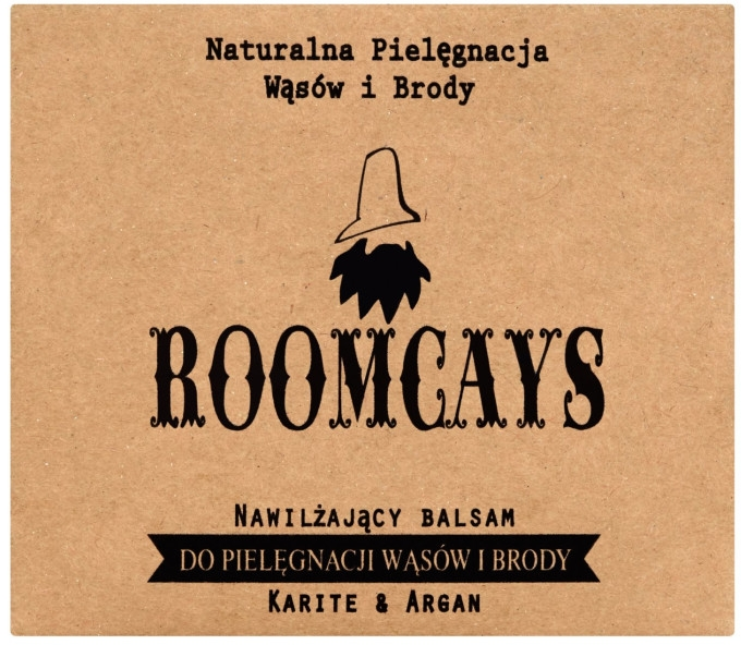 Balsamo per baffi e barba al burro di karité - Roomcays