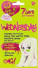 "Profumi e cosmetici Patch occhi in idrogel con allantoina e estratto di gelsomino ""Light Wednesday"" - 7 Days Hydrogel Eye Patches"