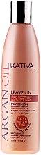 Profumi e cosmetici Condizionante capelli senza risciacquo con olio di argan - Kativa Argan Oil Leave-In Protection Softness & Shine