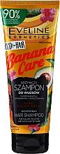 Profumi e cosmetici Balsamo dopobarba lenitivo per pelli sensibili - Eveline Cosmetics Food For Hair Banana Care Shampoo