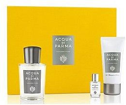 Profumi e cosmetici Acqua Di Parma Colonia Pura - Set (edc/100ml + edc/5ml + sh/gel/50ml)