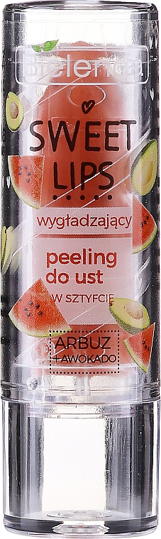 "Scrub labbra levigante ""Anguria + Avocado"" - Bielenda Sweet Lips Smoothing Lip Scrub"