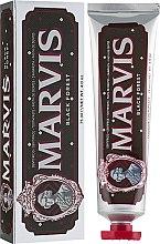 """Profumi e cosmetici Dentifricio """"Foresta Nera"""" - Marvis Black Forest"""